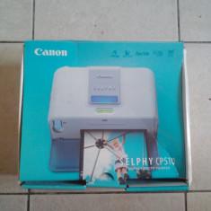 Imprimanta foto Canon SELPHY CP510, nefolosita