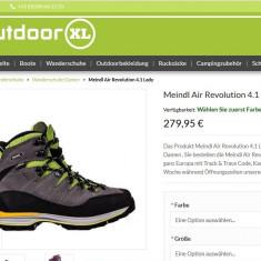 Bocanci Meindl Air Revolution 4.1 - Incaltaminte outdoor Meindl, Marime: 37
