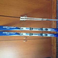 Skiuri Fischer 300 + clapari Rossignol stare foarte buna ! - Set ski
