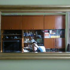 Oglinda cristal bizotat, cu rama - Oglinda dormitor