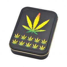Cutie depozitare tutun tigari Frunza Marijuana