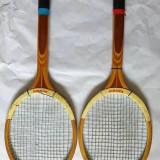 Lot 2 rachete / palete tenis de camp, Reghin, anii 80, vechi, vintage, colectie