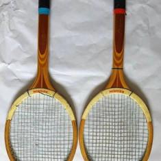 Lot 2 rachete / palete tenis de camp, Reghin, anii 80, vechi, vintage, colectie - Racheta tenis de camp, Adulti