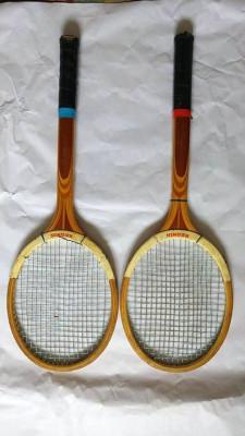 Lot 2 rachete / palete tenis de camp, Reghin, anii 80, vechi, vintage, colectie foto