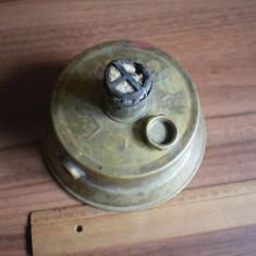 Spirtiera, lampa bronz d-15cm, h - 10cm - Metal/Fonta