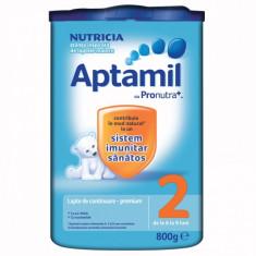 Aptamil 2 Nutricia Lapte praf 800 grame - Lapte praf bebelusi Milupa