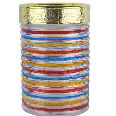 Borcan Sticla multicolor
