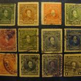 LOT TIMBRE VENEZUELA 1915-1924 / AMERICA DE SUD, Stampilat