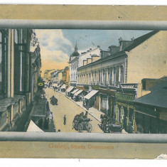 3948 - GALATI, Domneasca street - old postcard - used - 1911 - Carte Postala Moldova 1904-1918, Circulata, Printata