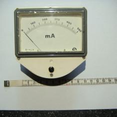 Mili Ampermetru 0-500mA