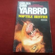 CHELSEA QUINN - YARBRO - NOPTILE BESTIEI - Carte Horror