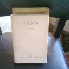 OPERE - N. FILIMON