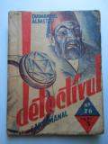"""Carte veche, 1935: Seria- Detectivul saptamanal Nr.26 """" Diamantul albastru """""""