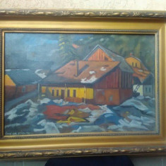 Tablou NAGY OSZKAR - Pictor roman, Peisaje, Ulei, Realism