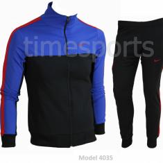 Trening barbati Nike - Bluza si pantaloni conici - Model NOU - Pret Special -, Marime: S, Culoare: Din imagine, Microfibra