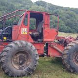 Taf-tractor articulat forestier cu motor de man