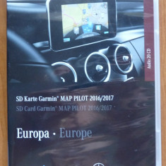 Card Navigator Mercedes Benz Europa, Garmin, 2017, cu docum. originale, 4, 3, Toata Europa, Lifetime