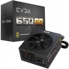 Sursa EVGA GQ 650W 80 PLUS Gold - Sursa PC, 650 Watt