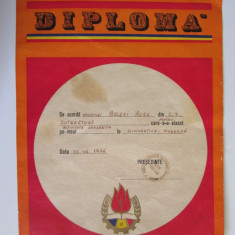 Diploma Pionieri C.S.Cutezatorii