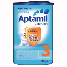 Aptamil 3 Nutricia Lapte praf 800 grame - Lapte praf bebelusi Milupa