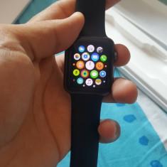 Vand apple watch 42 mm GRY AL BIK Sport - Smartwatch Apple, Ceramica, watchOS