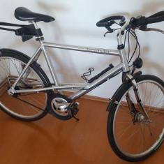 Bicicleta Mercedes-Benz originala - Bicicleta de oras, 20 inch, 24 inch, Numar viteze: 7
