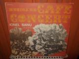-Y- MUZICA DE CAFE CONCERT - IONEL BANU VIOARA   DISC VINIL LP