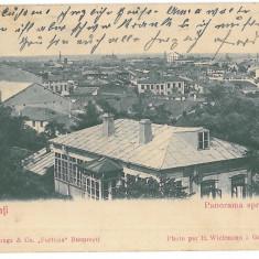 3939 - GALATI, Panorama - old postcard - used - 1905 - Carte Postala Moldova 1904-1918, Circulata, Printata