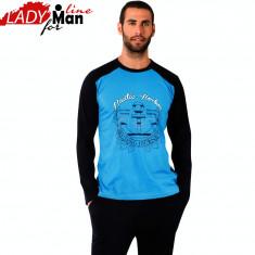 Pijama Barbati Maneca/Pantalon Lung, Model Nautic Horbor, Brand Donex, Cod 1032