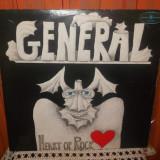 -Y- GENERAL - HEART OF ROCK DISC VINIL LP - Muzica Rock