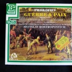 Guerre and paix - Prokofiev - box cd - Muzica Opera Altele