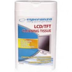 ESPERANZA Servetele pentru curatarea monitoarelor LCD/TFT ES106 100 buc - CD Writer PC