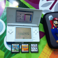 Nintendo Ds Lite Coral White + Seria Mario - Nintendo Wii U