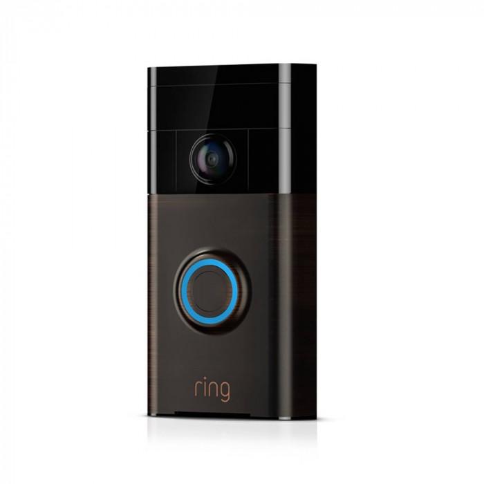 Resigilat : Sonerie video inteligenta PNI IP950 720P cu Wi-Fi culoare Bronz Veneti
