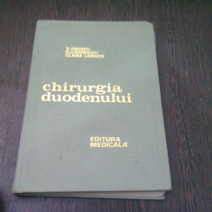 CHIRURGIA DUODENULUI - V. ANDRIU
