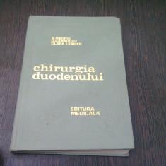 CHIRURGIA DUODENULUI - V. ANDRIU - Carte Gastroenterologie