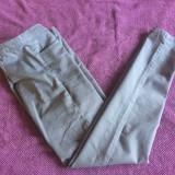 Pantaloni leggings de dama DIVIDED by H&M, marimea 42 - Pantaloni dama, Culoare: Gri, Lungi