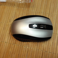 Mouse Optical Wireless 6 Butoane Nou gri (11146)