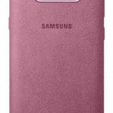 Husa tip capac spate Samsung Alcantara Cover EF-XG950APEGWW roz pentru Samsung Galaxy S8 (G950) - Husa Telefon