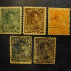 LOT TIMBRE VENEZUELA 1887 / AMERICA DE SUD, Stampilat