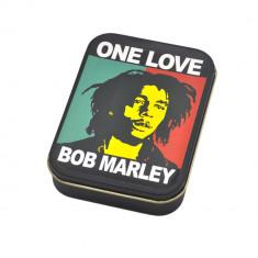 Cutie depozitare tutun tigari Bob Marley - Aparat rulat tigari