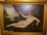Cumpara ieftin tablou nud scoala maghiara originala