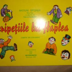 Aventurile lui Neata Peripetiile lui Haplea (carte de colorat )
