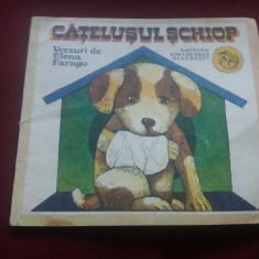 ELENA FARAGO - CATELUSUL SCHIOP - Carte poezie copii