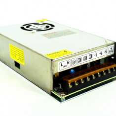 Invertor 220v-12v 20A 240W pentru banda led AL-170817-7 - Invertor curent