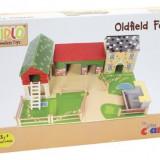 Set de joaca din lemn ferma animalelor, Tidlo