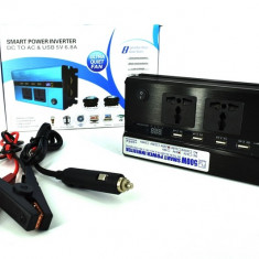 Invertor Premium 500W 24V-220V AL-170817-2 - Invertor curent