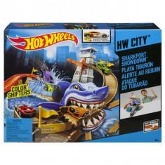 Jucarie Hot Wheels - Confruntarea din Portul Rechinului BGK04 Mattel - Masinuta