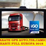 "GPS Navigatii 2017- 7""HD, 256 ram, 8GB, GPS Full EU GPS Auto, GPS TIR, GPS CAMION, 7 inch, Toata Europa, Lifetime, peste 32 canale, Harta online: 1"