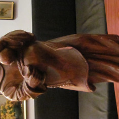 PVM - Statuie lemn  BACHUS nesemnata